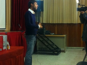 Conferencia Sergio Fernandez Sevilla