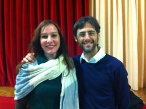 Asun Muñoz y Sergio Fernandez